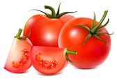 Illustration of tomatoes