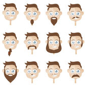 funny beard head collection