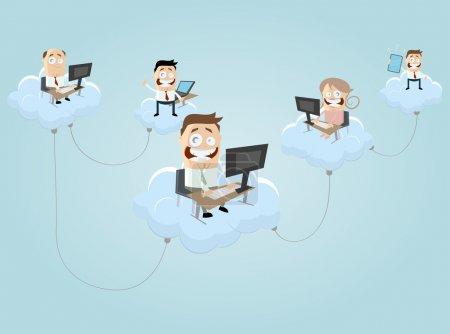 Cloud computing people