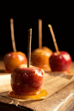 Group Of Toffee Apples