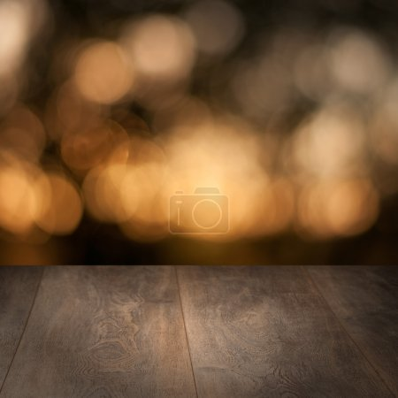 Photo for Weathered wooden timber with grungy backdrop - Royalty Free Image