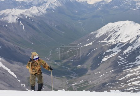 Photo for Conquest of the snowy peaks. Tien Shan. - Royalty Free Image