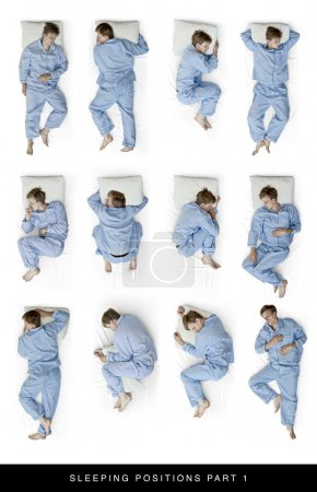 Photo for Als look for sleeping position part 2 for 11 more positions - Royalty Free Image