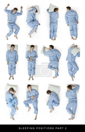 Photo for Als look for sleeping position part 1 for 11 more positions - Royalty Free Image