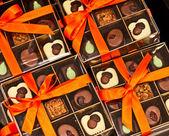 Krabice s čokoládou