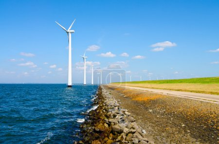 Wind energy windmills