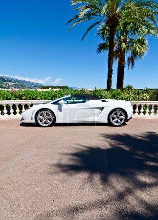 Concept of wealth, sports car in Monaco