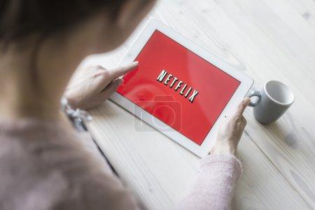Netflix on tablet pc