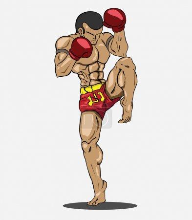 Muay thai Martial art