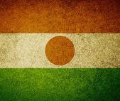 Grunge vlajka Nigeru