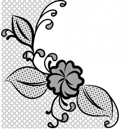 lace corner