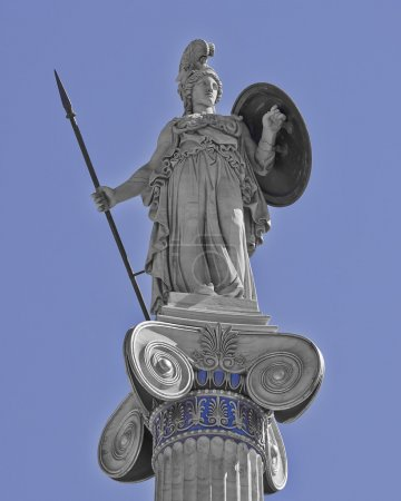 Athena the goddess of wisdom and science