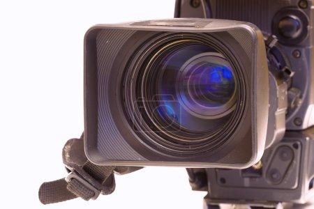 Photo pour Télévision Objectif caméscope Beta en gros plan, photographie - image libre de droit