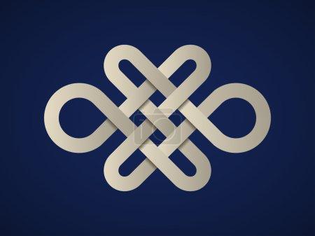 paper endless celtic knot