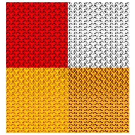 vehicle reflector seamless pattern