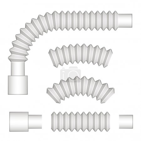 plumbing corrugated flexible tubes