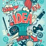 Conceptual representation of an idea or inspiratio...