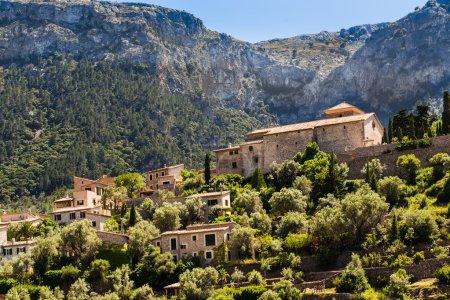 mediterranean village of Majorca island, Spain