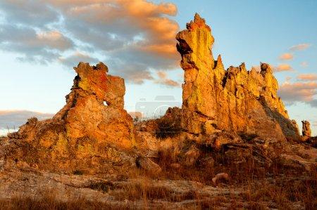 Типичные горы Мадагаскара