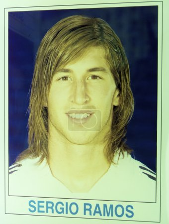 Sergio Ramos on the first day in Real Madrid