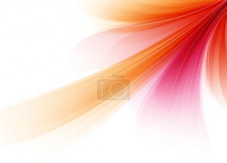 Red abstract soft vector background