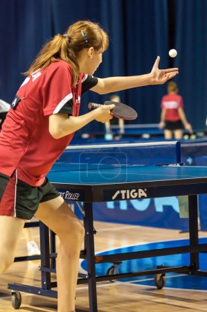 Competitions in table tennis