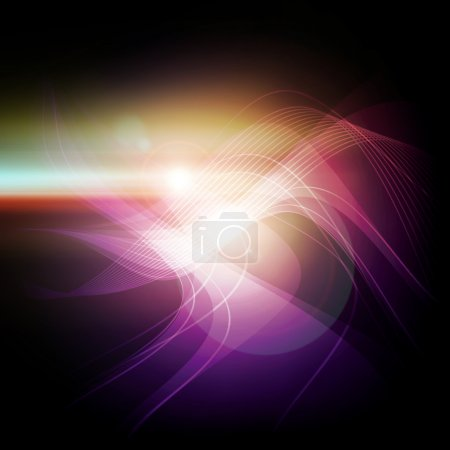 Photo for Abstract violet light background - Royalty Free Image