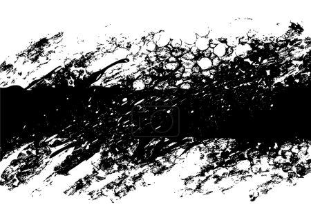 Illustration for Black grunge background - Royalty Free Image