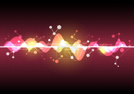 abstract science element background