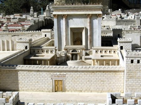 Photo for Second Temple. Model of ancient Jerusalem - Royalty Free Image