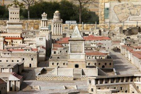 Tomb of King David. Towers of Herod (Fasael, Gippikus and Mariamne).