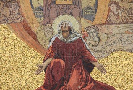 """Photo pour L """"Église de tous les Peuples aussi connue sous le nom de Basilique de l'Agonie. C'est une église catholique romaine située sur le Mont des Oliviers à Jérusalem, en Israël . - image libre de droit"""