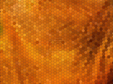 Abstract mosaic imitation animal leather background
