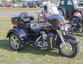 MARION, WI - SEPTEMBER 16: Side of 2004 Harley Dav