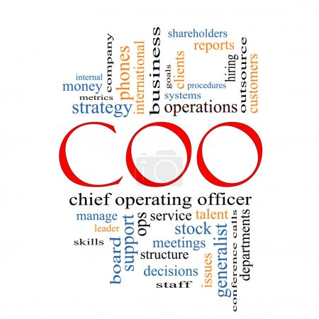 COO Word Cloud Concept