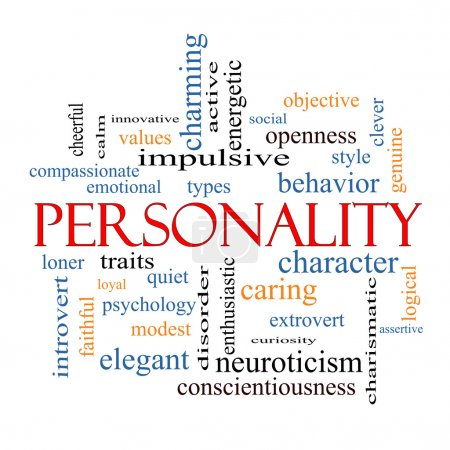 Personality Word Cloud Concept