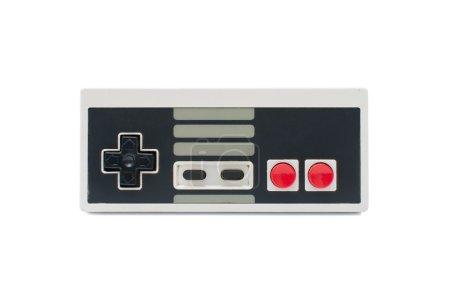 Photo for Retro Gamepad isolated on white background, - Royalty Free Image