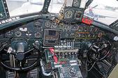 Régi bombázó pilótafülke