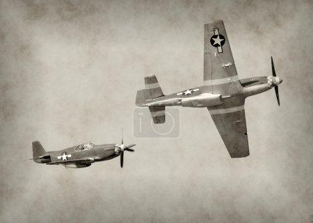 WW2 era fighter plane