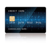 Credit card vector eps10