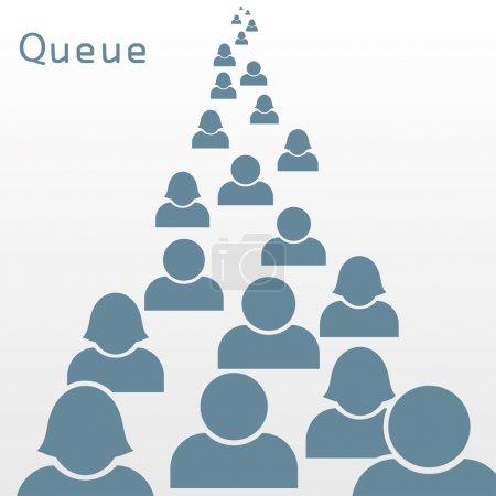 queue.