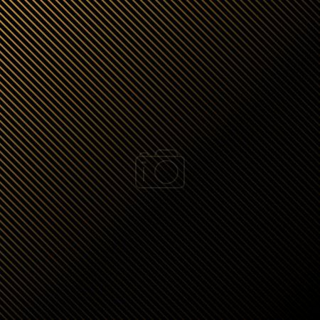Black background in gold stripes