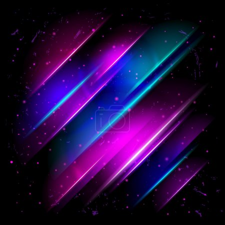 abstract glowing background. Abstract cosmic background