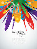 Vector colorful abstract design EPS 10