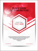 Beautiful Abstract Flyer Design Cover page design eps 10