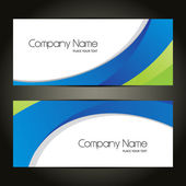 Beautiful Abstract Banner Set Design, Cover page design, Colorful waves.