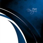 Modern Business Flyer Design, Minimal design Eps10 colorfull waves & grid.