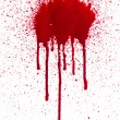 A high resolution image of blood splats and drips...