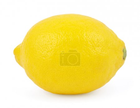 Photo for Lemon isolated on white background - Royalty Free Image