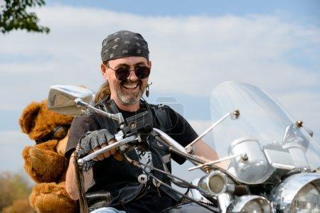 Positive biker